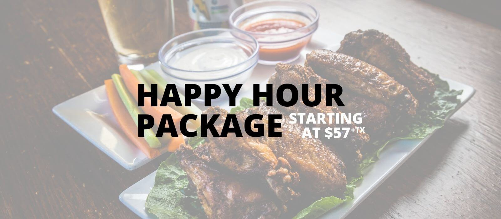 Happy Hour Package