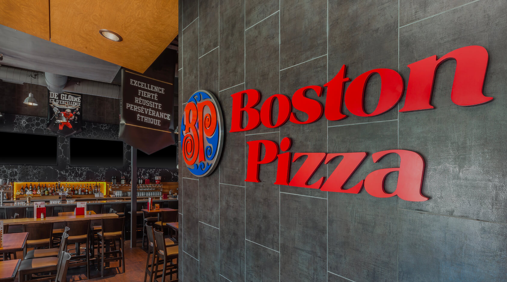 Restaurant Boston Pizza
